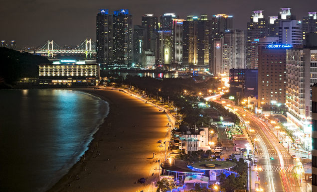 haeundae night